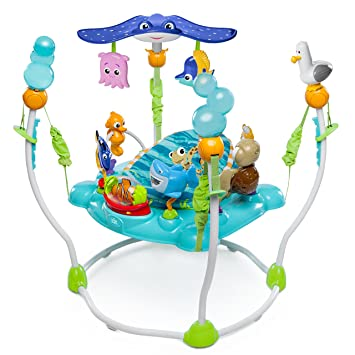 f927d6cda Amazon.com   Disney Baby Finding Nemo Sea of Activities Jumper   Baby