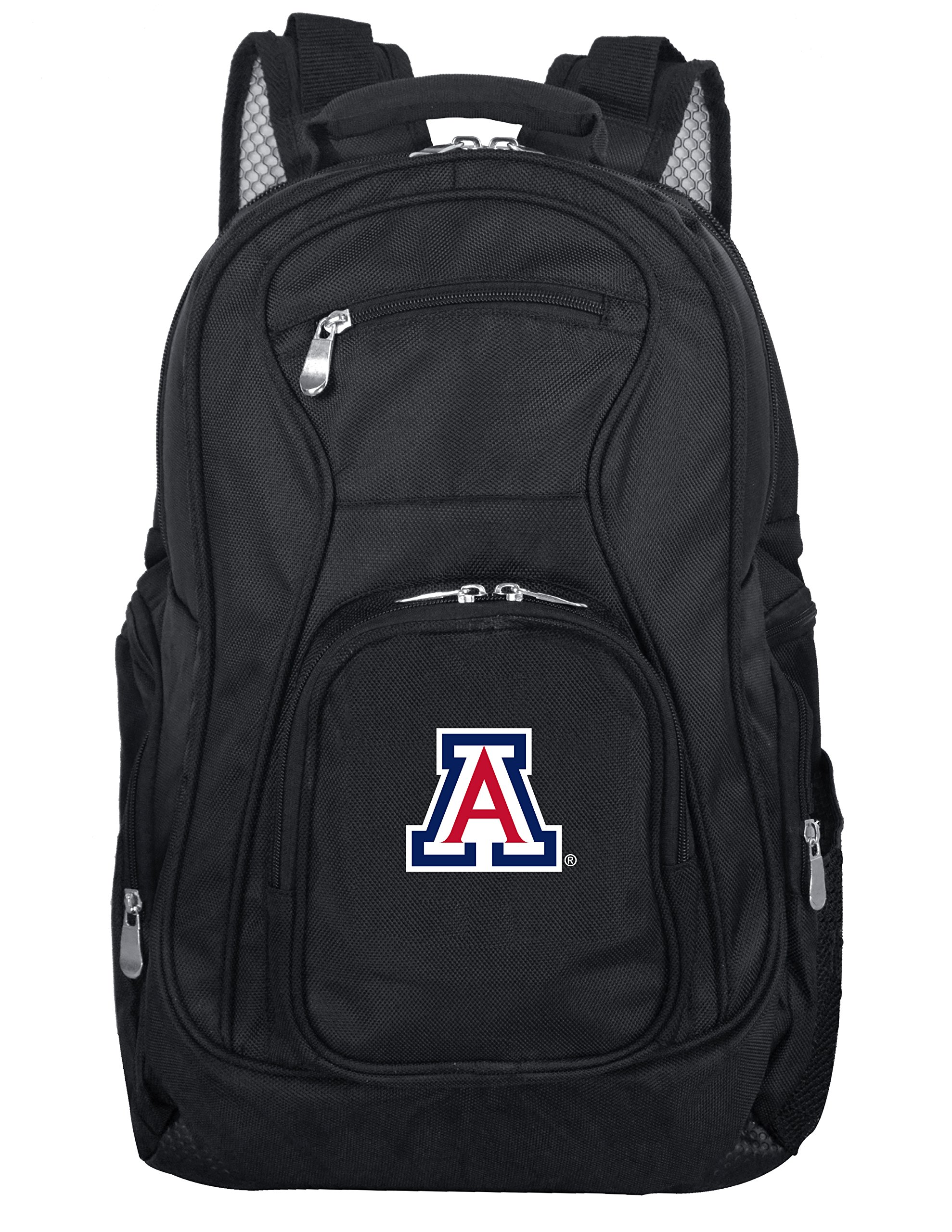 Denco NCAA Arizona Wildcats Voyager Laptop Backpack, 19-inches, Black