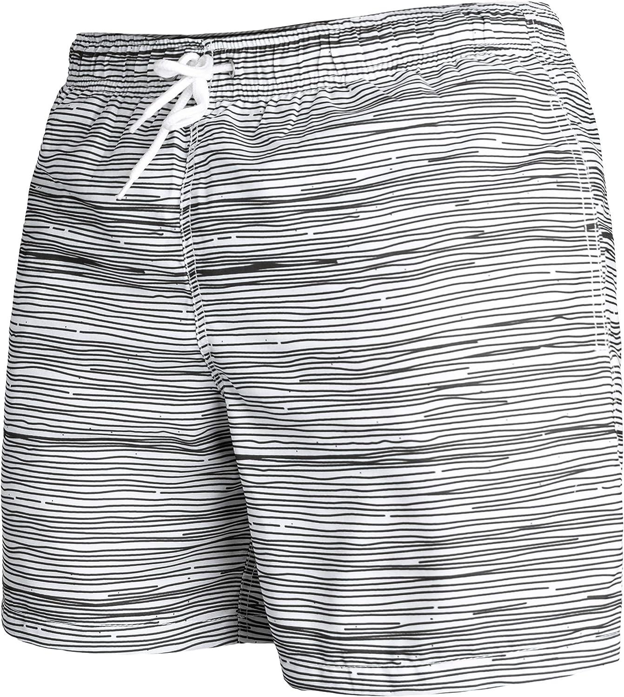 Pantaloncino da Bagno Uomo A Strisce in Tanti Colori Diversi Occulto Costume da Bagno Uomo Asciugatura Rapida