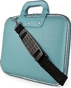 SumacLife Cady Shoulder Bag for 9.7-10.5 Inches Tablets (SLCady10BLU)