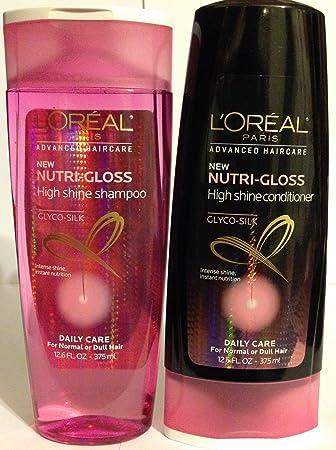 Amazon.com : L'Oreal Paris Advanced Haircare - Nutri-Gloss - High ...