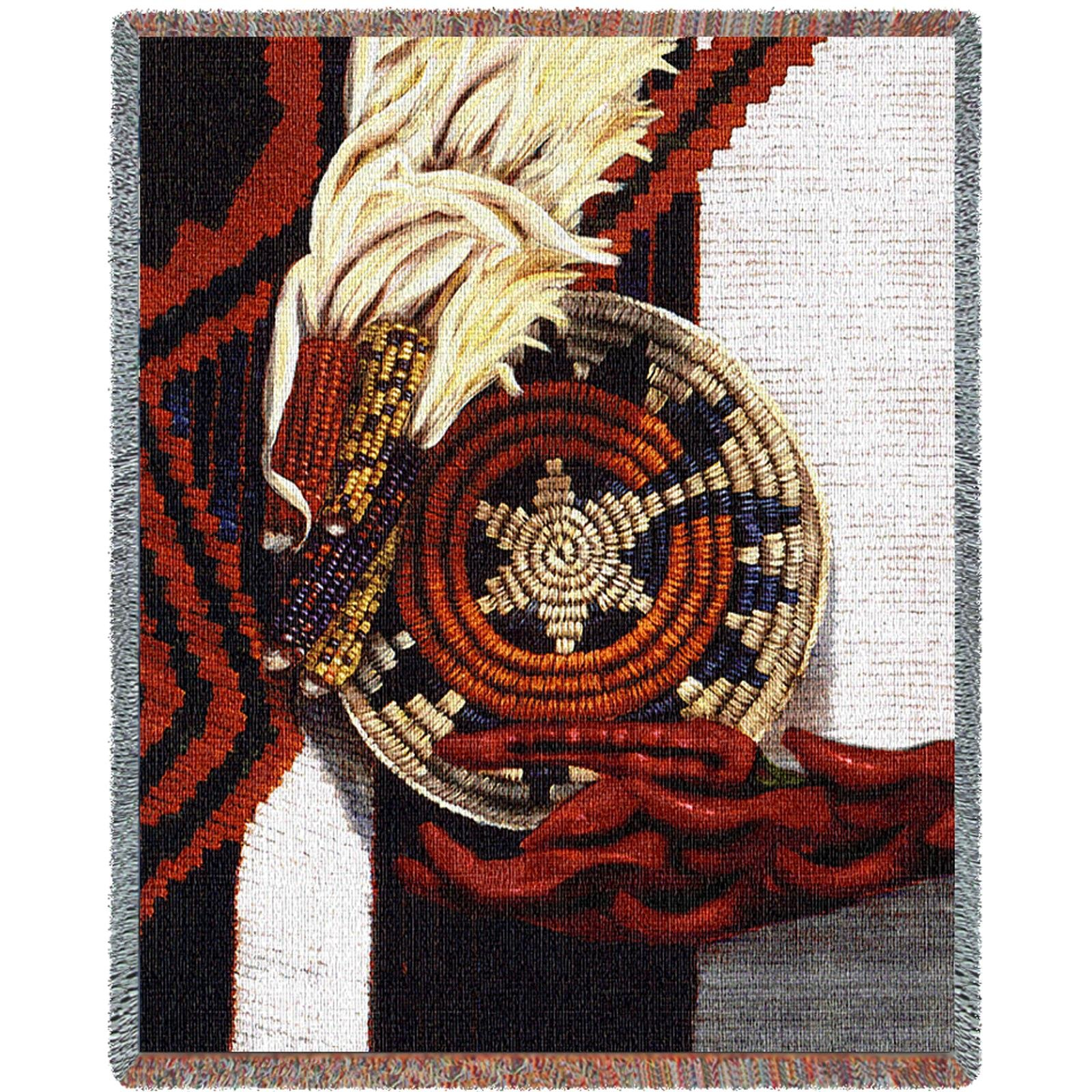 Pure Country Indian Market Tapestry Throw