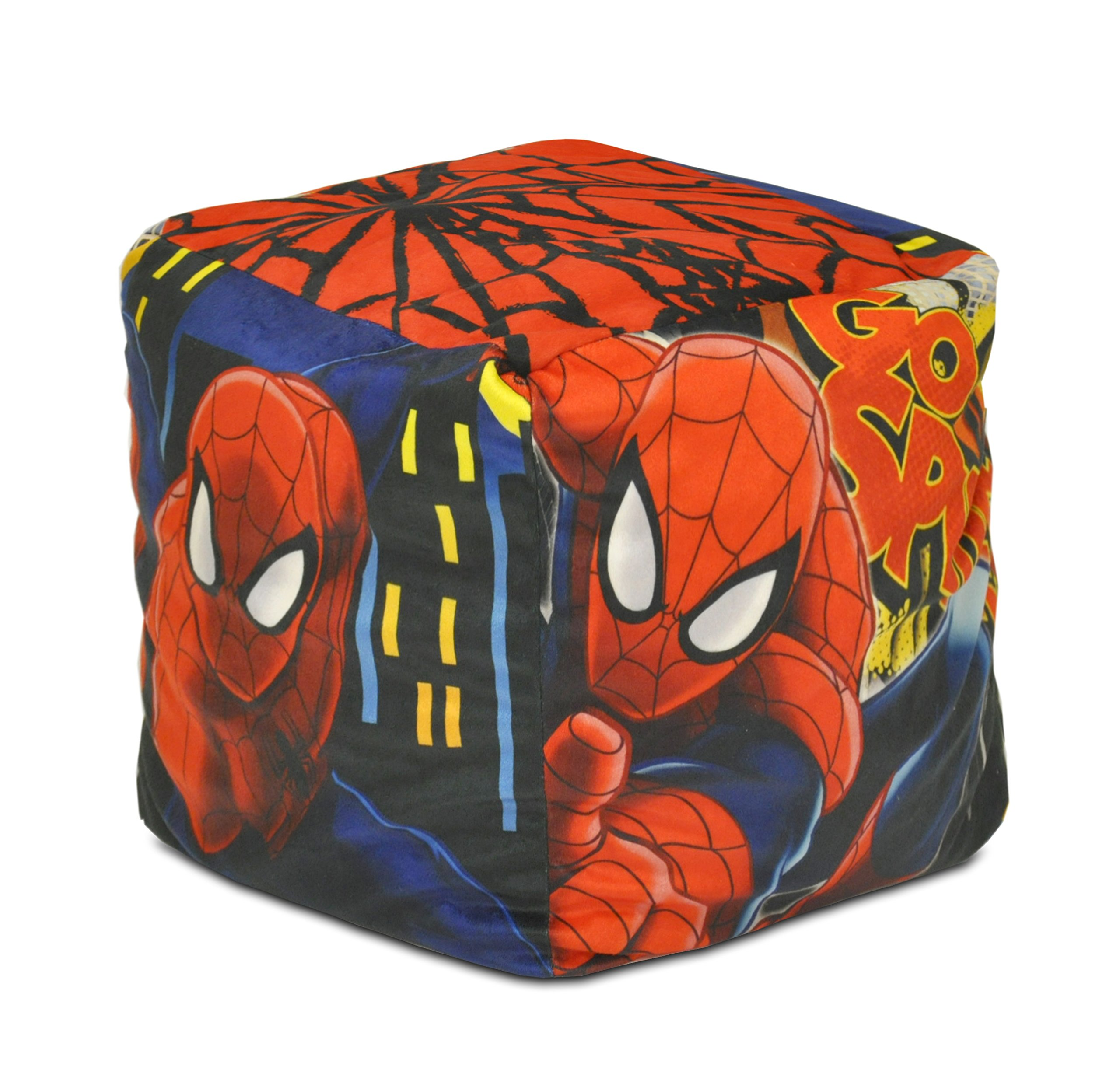 Marvel Spider-Man Square Pouf