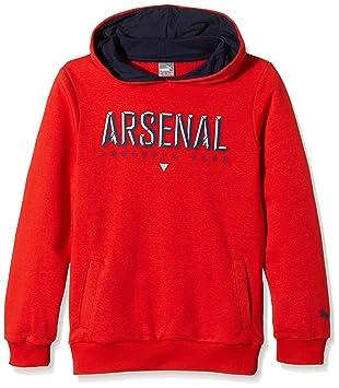 856561ec774 Puma Children s Sweatshirt Arsenal Fan Hoody High Risk Red