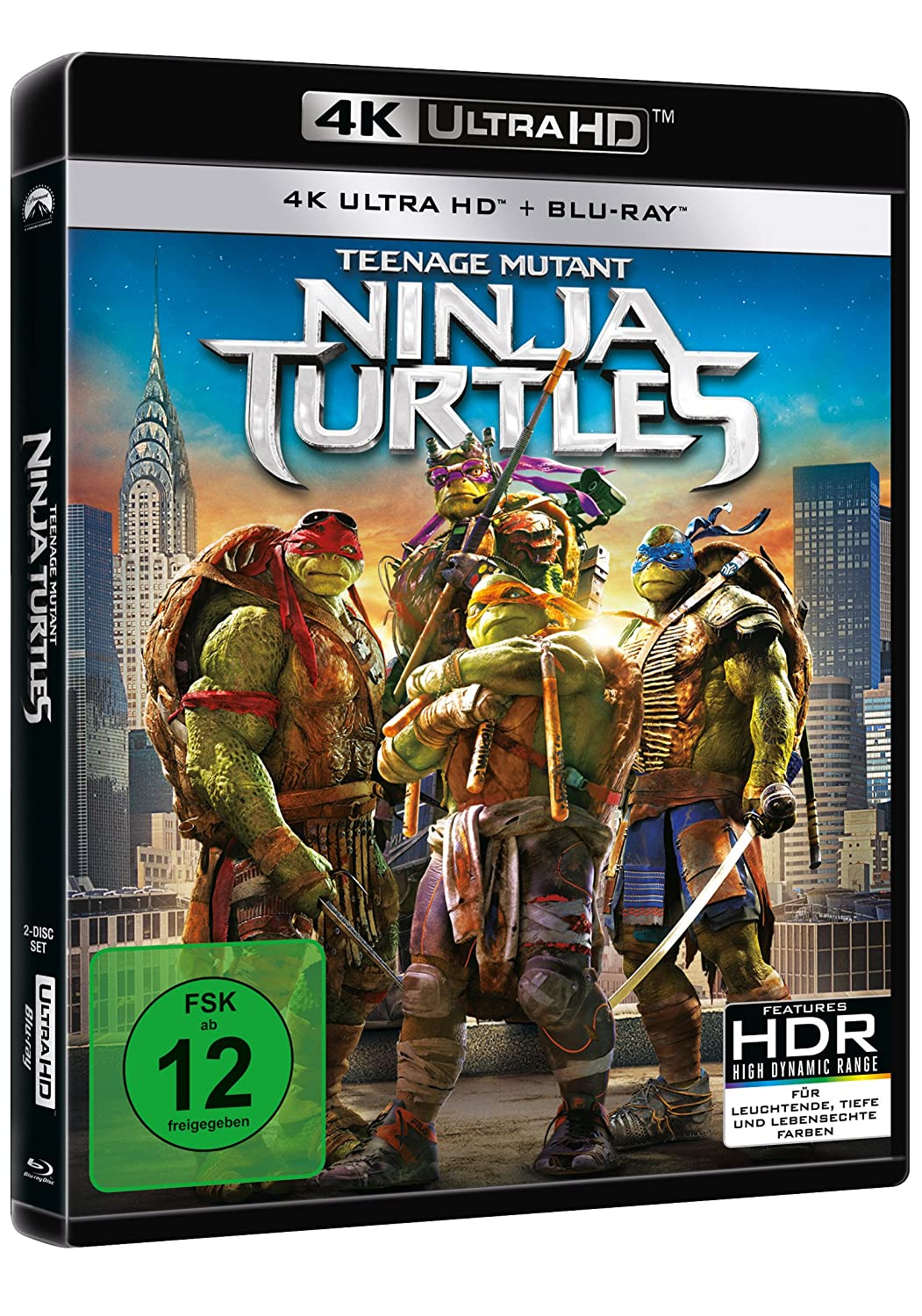 Teenage Mutant Ninja Turtles - 4K UHD Alemania Blu-ray ...