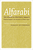 "The Political Writings, Volume II: ""Political Regime"" and ""Summary of Plato's Laws"": 2 (Agora Editions)"