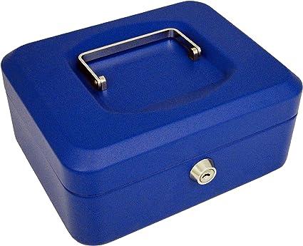 Cassetta portavalori colore: Blu 30,5 cm PAVO 8011773