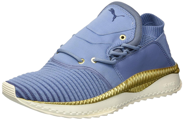 Infinity-bluee indigo-whisper white PUMA Womens Tsugi Shinsei Evoknit Wn Sneaker