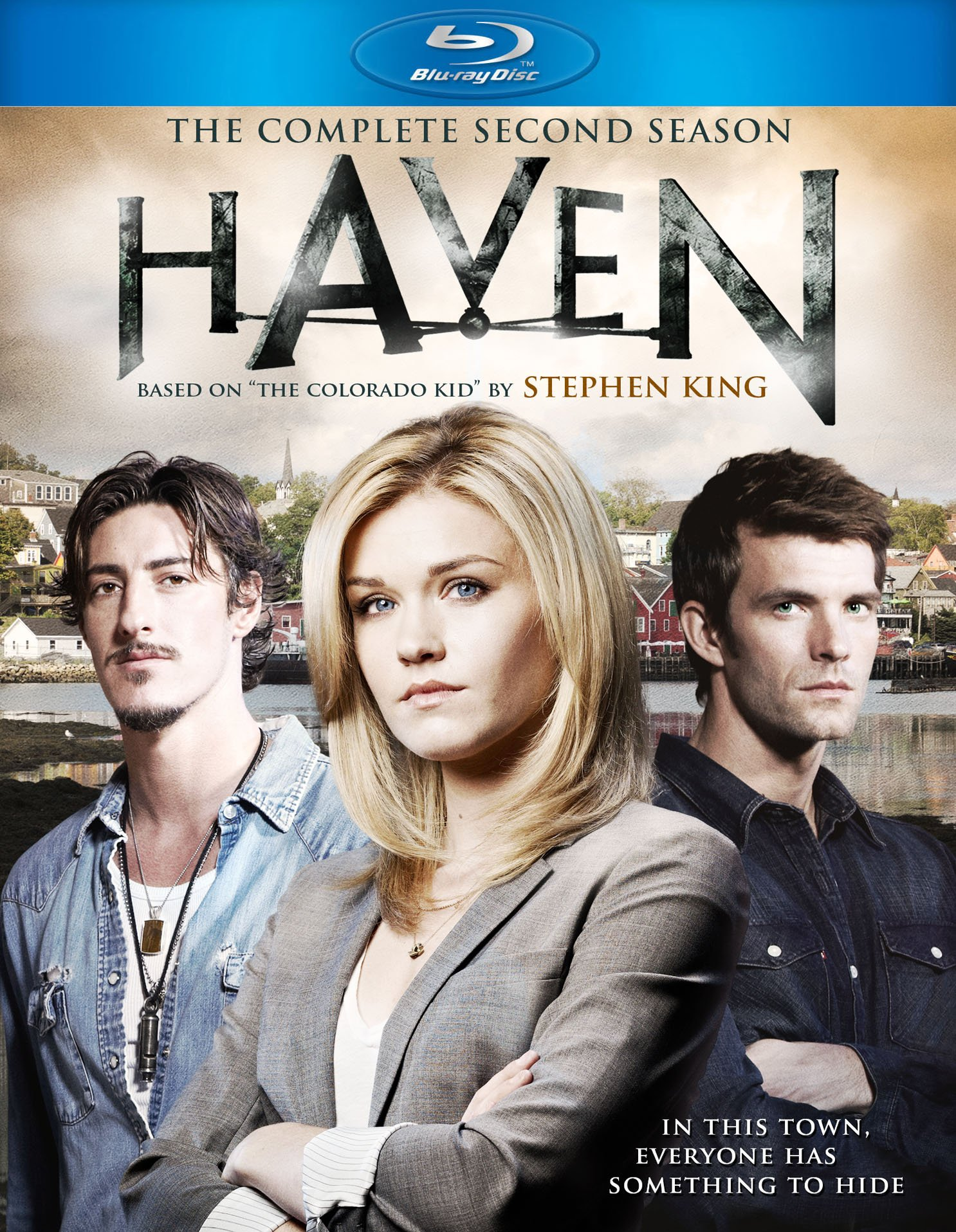 Blu-ray : Haven: The Complete Second Season (Dolby, AC-3, 4 Disc)