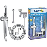RinseWorks - Aquaus 360 Diaper Sprayer for Toilet - NSF Tested & Certified - 3 Year Warranty – Dual Thumb Pressure Controls - Ceramic Disk Seals / International Patent Pending