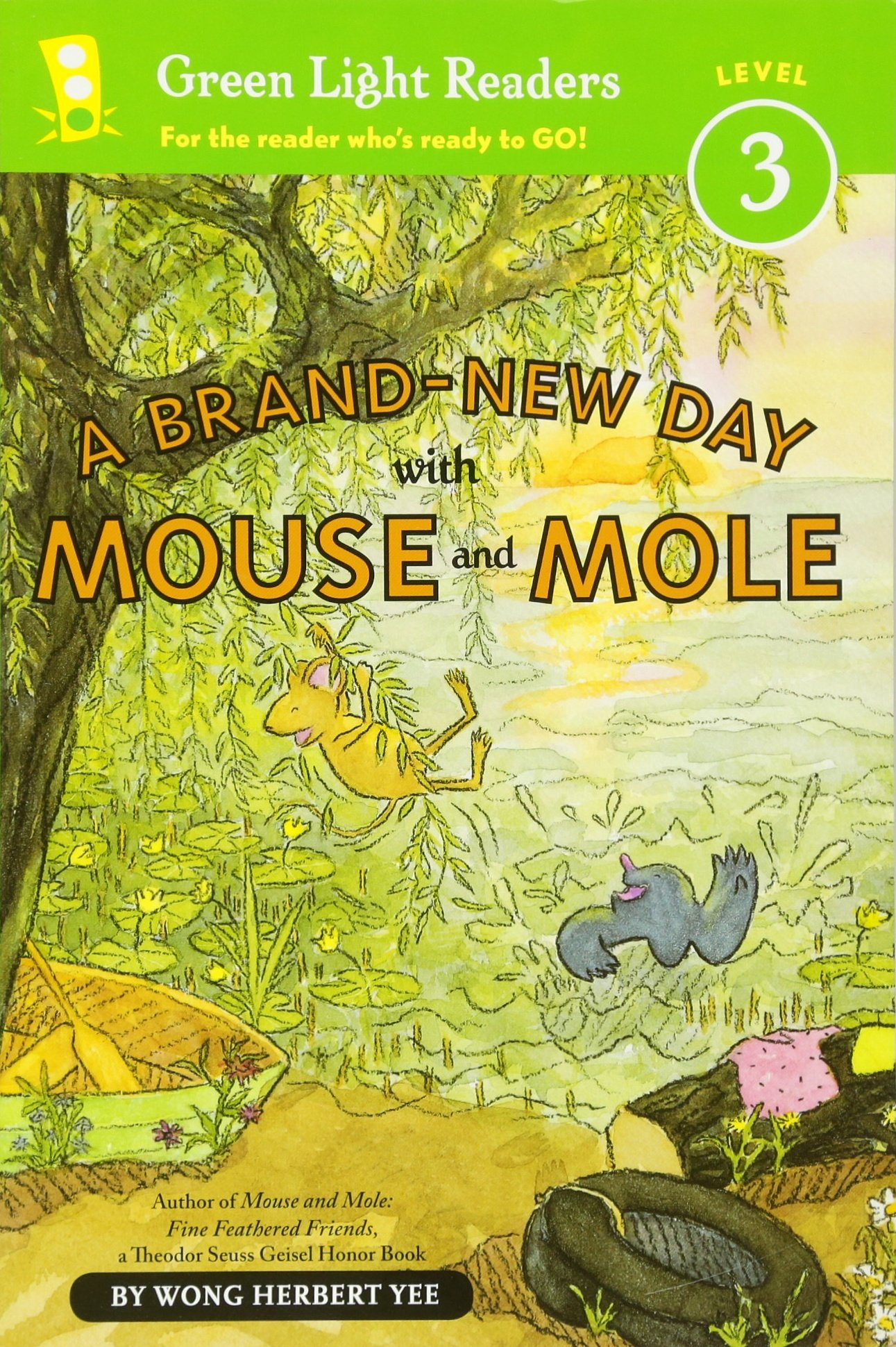 A Brand-New Day with Mouse and Mole (reader) (A Mouse and Mole Story): Wong  Herbert Yee: 9780547722092: Amazon.com: Books