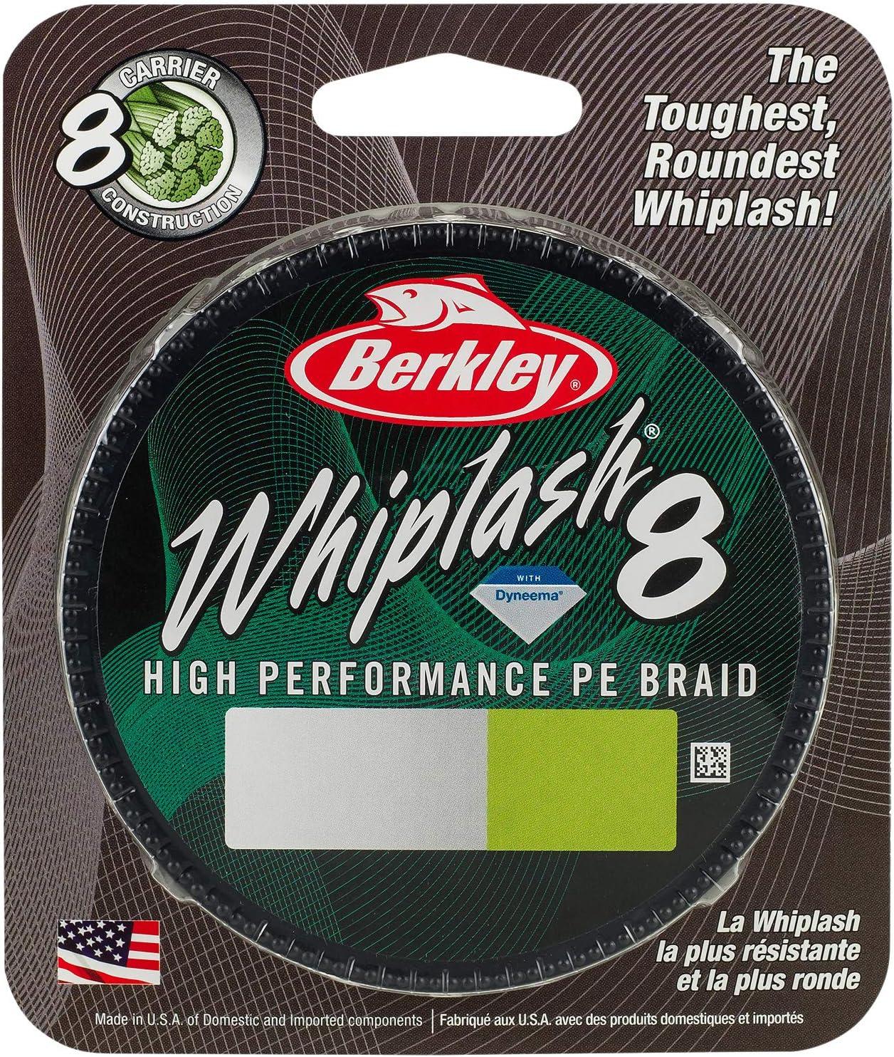 Berkley Whiplash 8 Moss Green Geflochtene Angelschnur Ø 0,20mm27,7kg300m 1446664