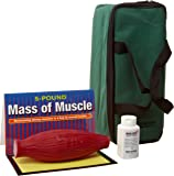 """HEALTH EDCO W43263M-5 Mass of Muscle, 5 Pounds, 8-1/2"""" Length x 4-3/4"""" Width x 4"""" Height"""