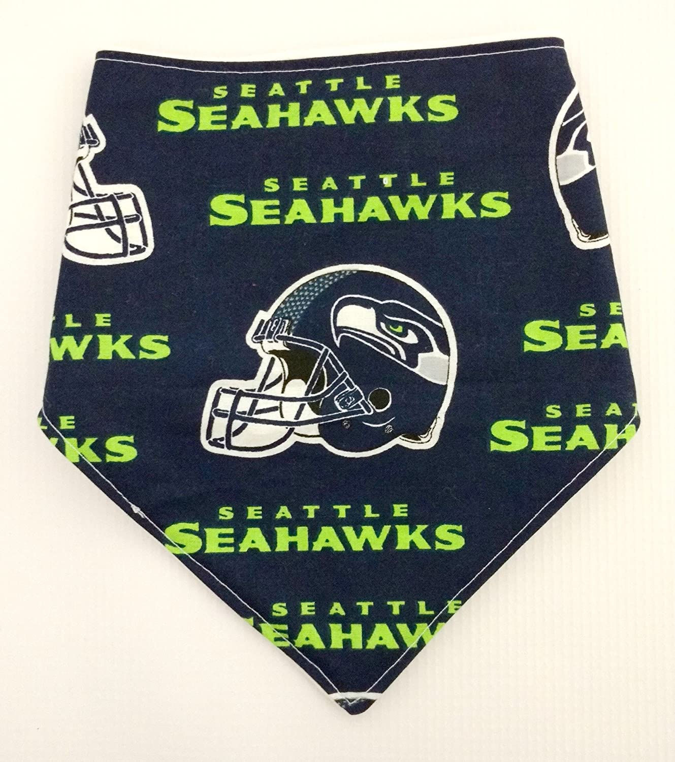 Amazon.com: NFL Seattle Seahawks Bandana Bib: Handmade