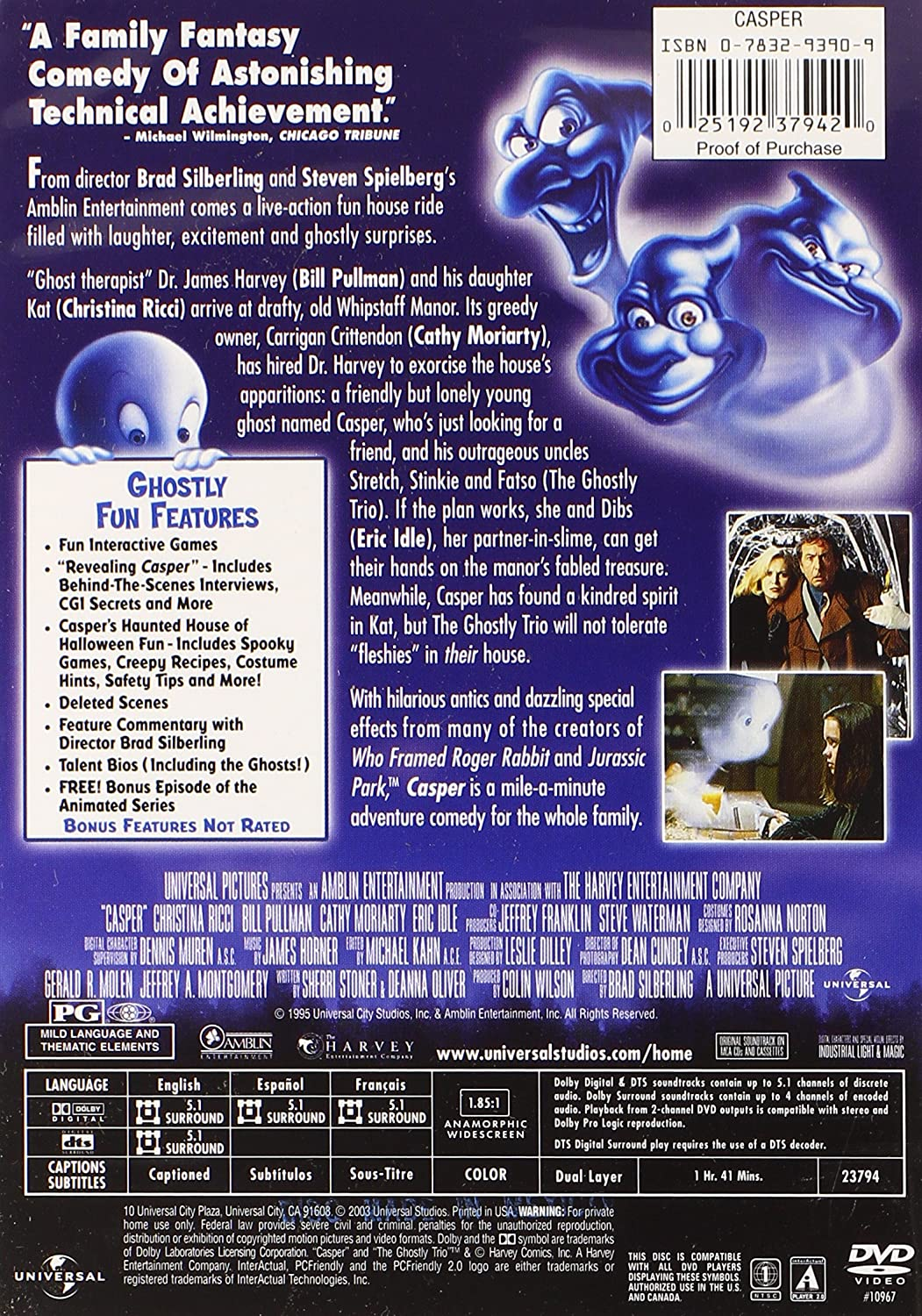 Casper 1995 Vhs | www.pixshark.com - Images Galleries With ...