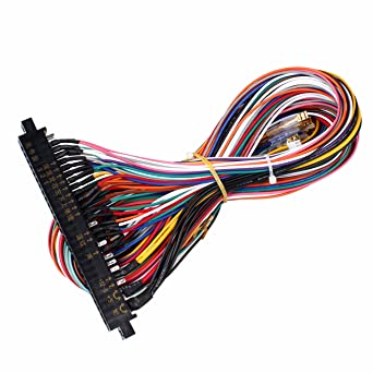 amazon com eg starts arcade jamma 56 pin interface cabinet wire rh amazon com Ford Wiring Harness Kits Engine Wiring Harness