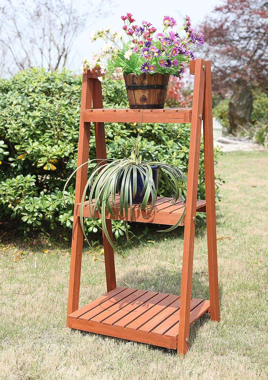 Amazon.com : Convenience Concepts 3 Tier Plant Stand : Garden U0026 Outdoor