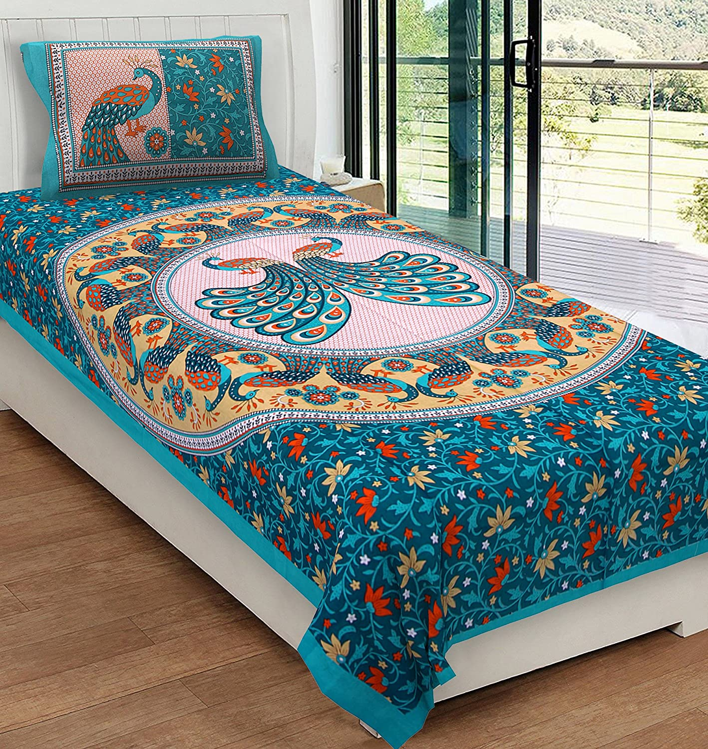 best single bed sheet under 500 in india