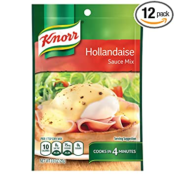 Knorr Hollandaise Sauce.9-Ounce Packages (Pack of 12)