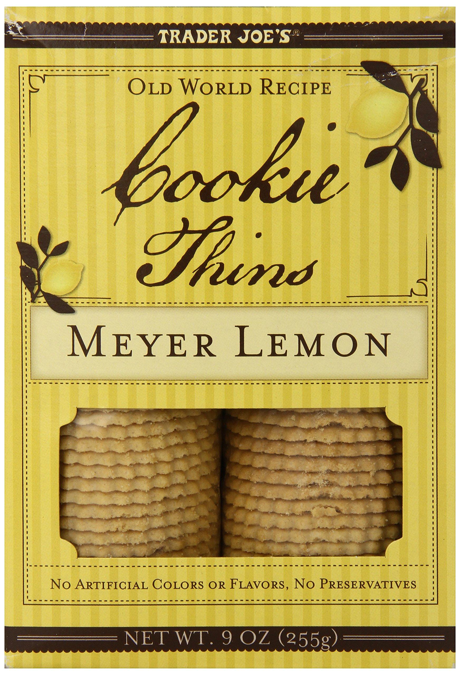 Trader Joe's Meyer Lemon Cookie Thins (Pack Of 2)