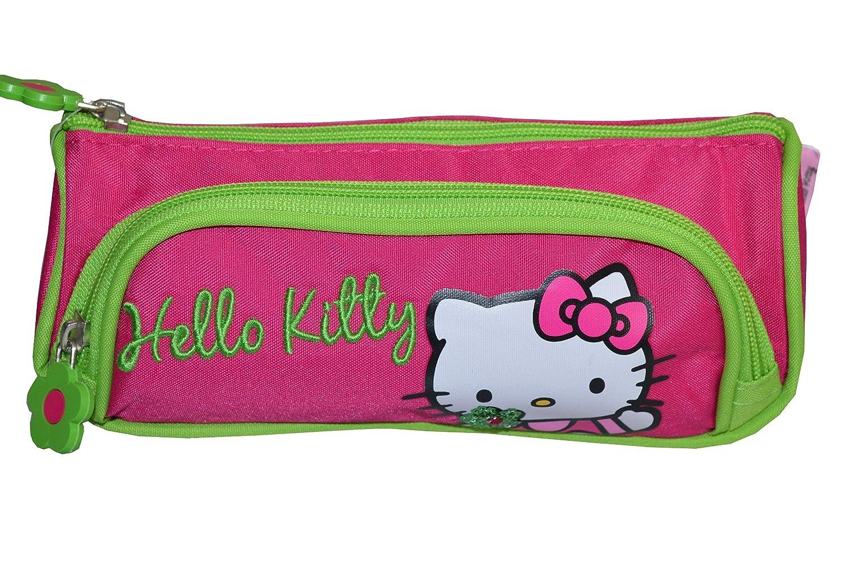 Hello Kitty - Estuche de doble compartimento (bolsa escolar ...