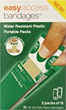 """Easy Care Easy Access Bandages, 1"""" x 3"""" Plastic, 30 Count"""