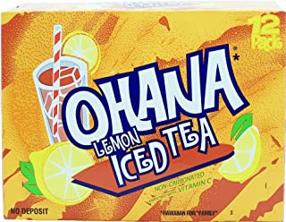 product image for Faygo lemon flavor iced tea, non-carbonated, enriched with vitamin c, 12-pack 12-fl. oz. cans