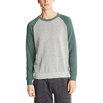 Alternative Men's Colorblock Champ at Men's Clothing store: Athletic Sweatshirts