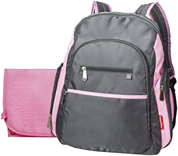 1d94a170d76 Amazon.com   Fisher-Price FastFinder Ripstop Backpack   Diaper Tote Bags    Baby
