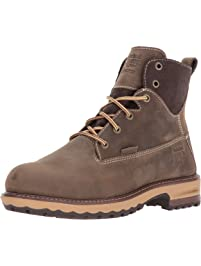 "Timberland Womens Hightower 6"" Alloy Toe Waterproof Industrial & Construction Shoe"