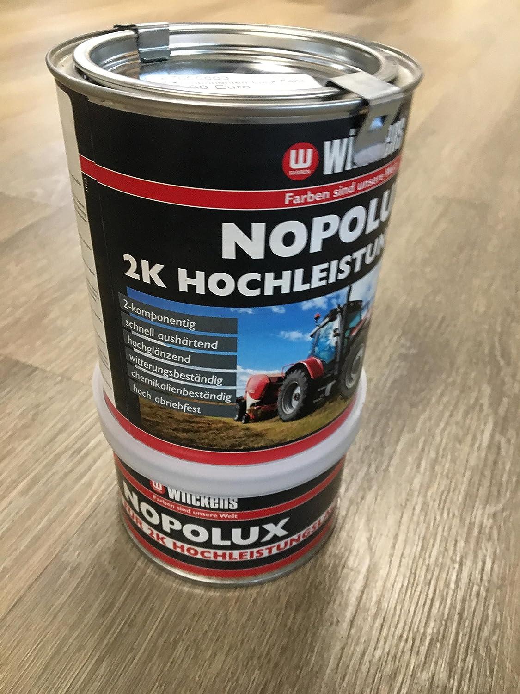 2 Komponentenlack Fendt Grün Nopolux Wilckens Profi Gewerbe Industrie Wissenschaft