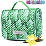 Chapter: Rainbow Collection. Large Makeup & Cosmetic Hanging Toiletry Bag Travel Organizer for Men & Women