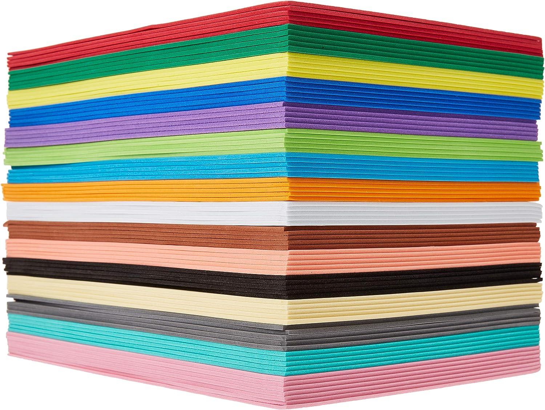 EVA Foam Handicraft Sheet Crafting Sponge for DIY Project Greeting Cards 5mm