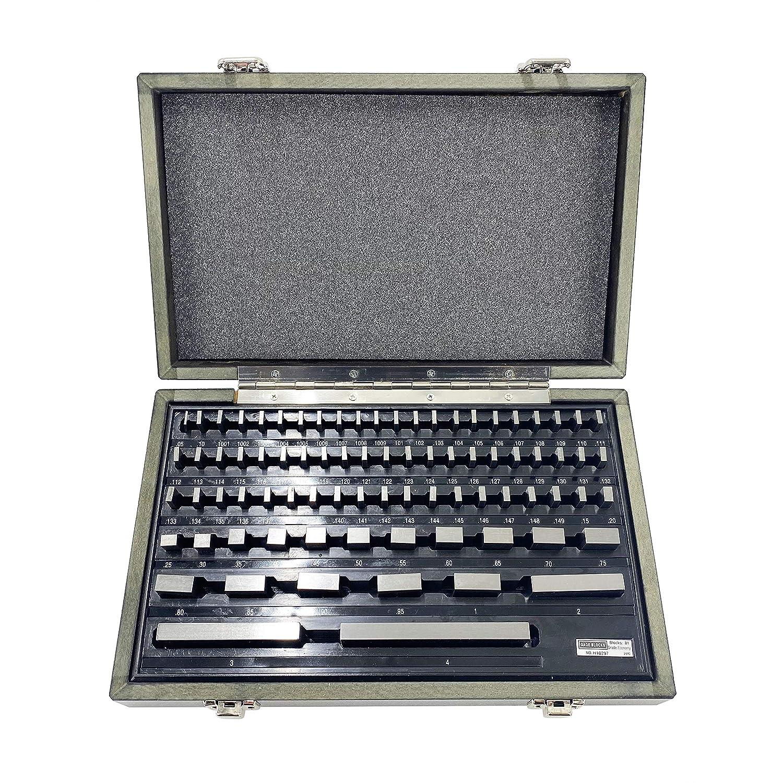 TEXALAN 81 PCS Grade B Gage Gauge Block Set ; NIST TRACEABLE Certificate: Industrial & Scientific