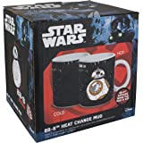 Star Wars BB8 Heat Change Mug, Multi-Colour