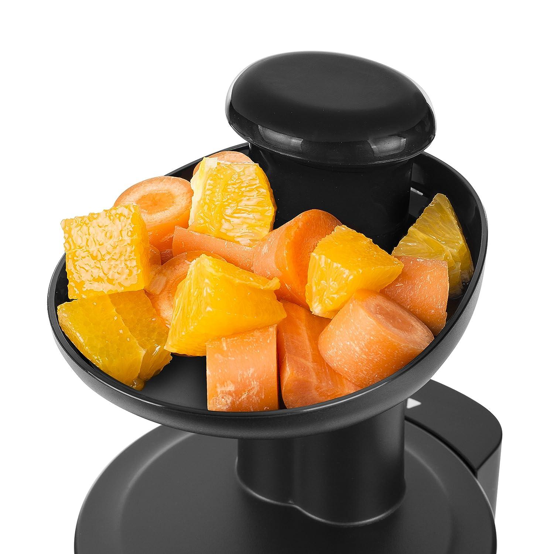 Conserva tutte le vitamine Adatto per ingredienti di ogni consistenza Estrattore Tristar SC-2303