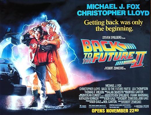 Regreso al futuro 2 Póster de la película 2 papel brillante ...