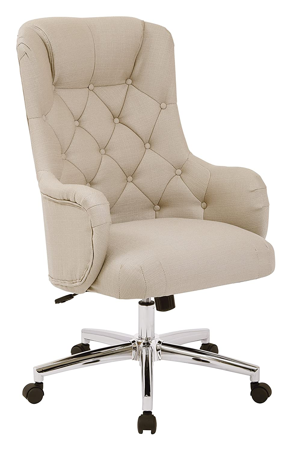 Tufted High Back Desk Chair