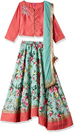 Biba Girls Lehenga Choli Girls' Lehenga Cholis at amazon