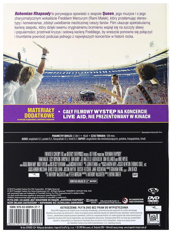 Bohemian Rhapsody + Soundtrack CD + DVD Audio español. Subtítulos ...