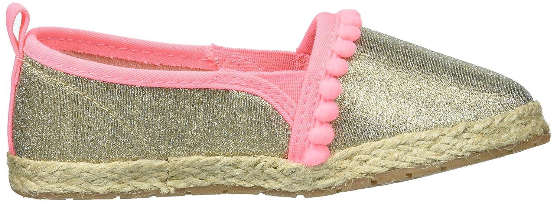 OshKosh BGosh Kids Belle Girls Beachy Espadrille Flat Loafer OshKosh B/'Gosh