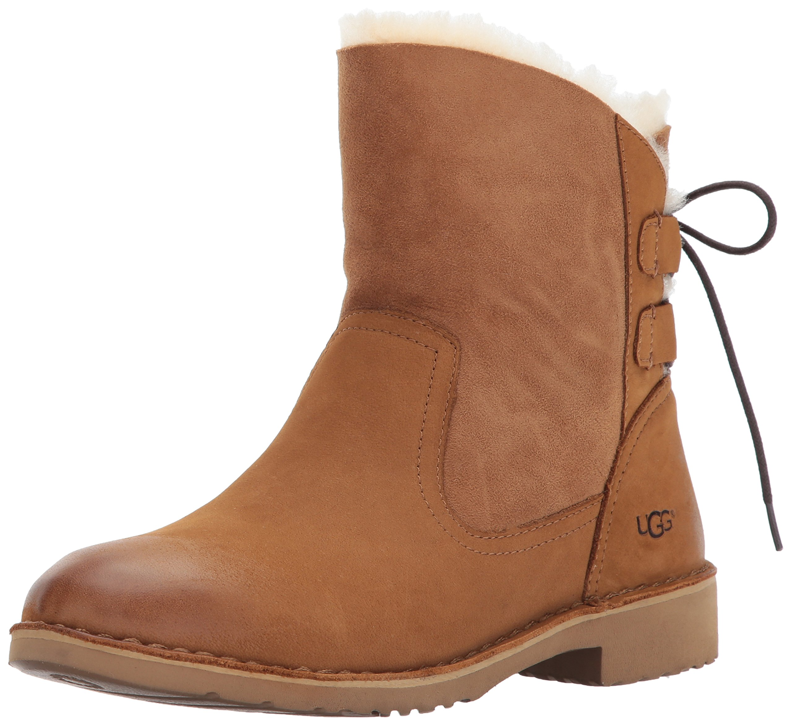UGG Women's Naiyah Winter Boot, Chestnut, 9 M US