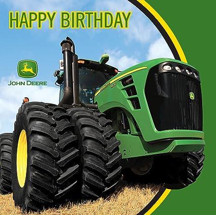 Amazon John Deere Happy Birthday Luncheon Napkins 16 Count