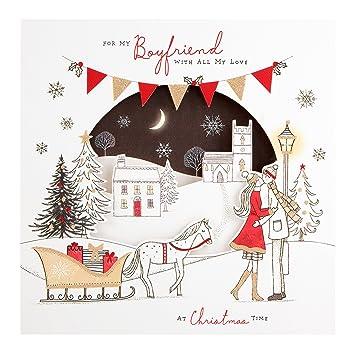 Hallmark christmas card to boyfriend togetherness and laughter hallmark christmas card to boyfriend togetherness and laughter medium square m4hsunfo Gallery