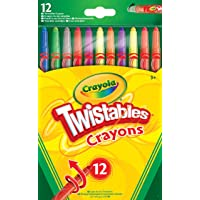 CrayolaTwistables Crayons, Pack of 12 - Multicolour