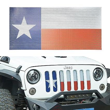Amazon Com U Box Us Texas Flag Front Grille Mesh Insert American