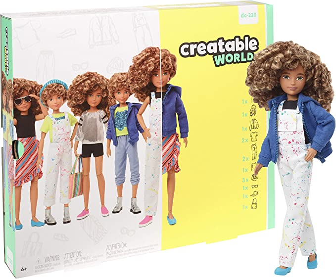 Amazon.es: Creatable World - Figura Unisex Muñeco Articulado ...