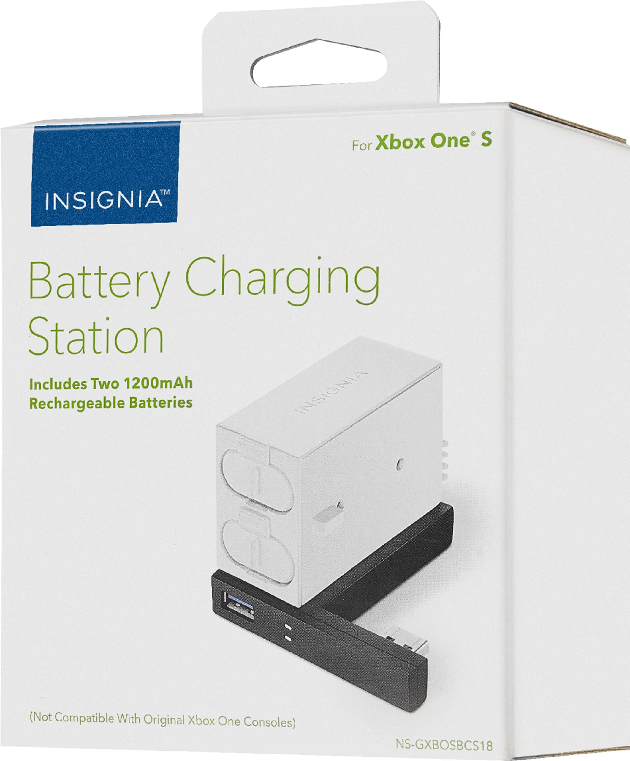 Amazon.com: Insignia - Battery Charging Station for Xbox One S ...