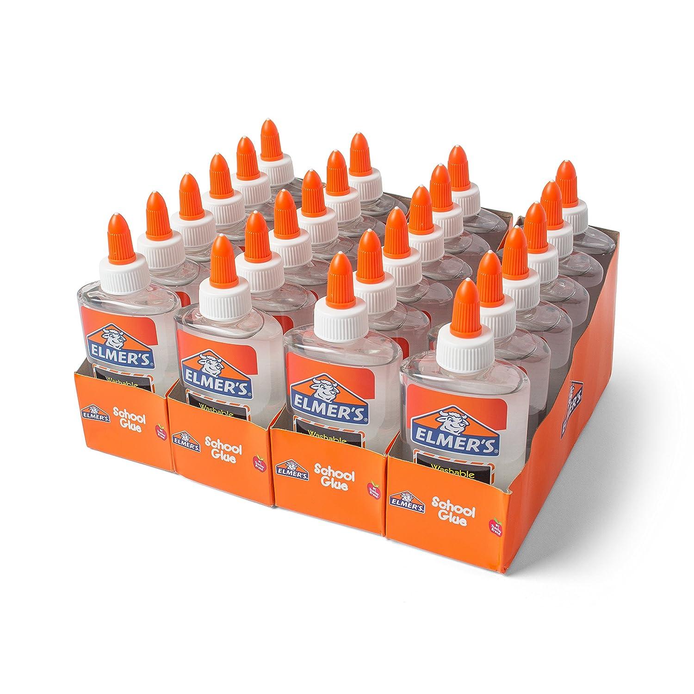 Elmer's Liquid School Glue, Washable, Pack of 12 Elmer' s Products E304NR