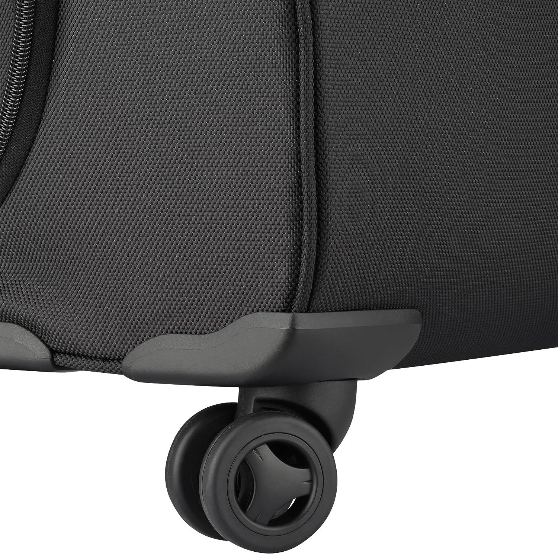 Delsey Paris Luggage 4 Wheel Spinner Mobile Fjallraven Kanken Laptop 15ampquot Black Briefcase One Size Briefcases